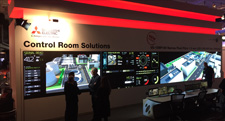 Direct View LED display completely dominates the entrance to Hall 2 at ISE 2018!
